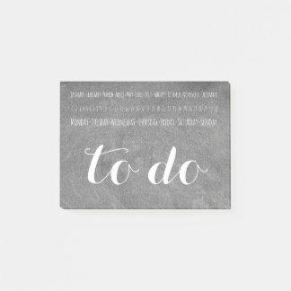 Post-it® Pour faire la typographie de regard de tableau de