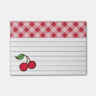 Post-it® Rétro cadeau de notes de post-it de cuisine de