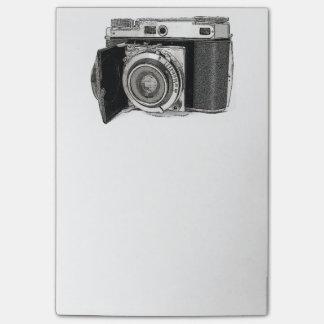 Post-it® Rétro croquis de dessin de photographie