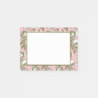 Post-it® Roses vintages sur Stickies floral rose-clair