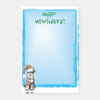 Post-it® Schnauzer miniature heureux de Howlidays