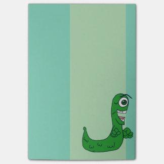 Post-it® Sluggo, le vert agrègent l'escargot muté