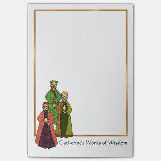 Post-it® Trois sages parlent des mots de la sagesse