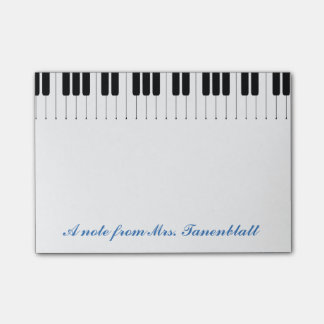 Post-it® Une note de votre professeur de musique