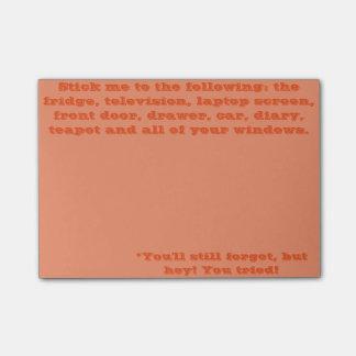 Post-it® Vous oublierez de toute façon
