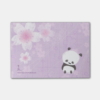 Post-its de panda de zen (Sakura)
