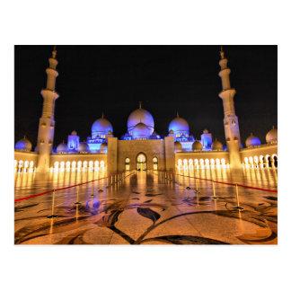Postcard Sheikh Zayed Grand Mosque, Abu Dhabi Carte Postale