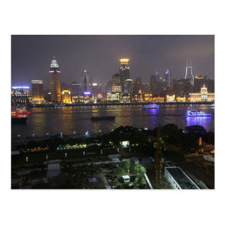 Postcard The bund from Pudong, Shanghai, China Cartes Postales