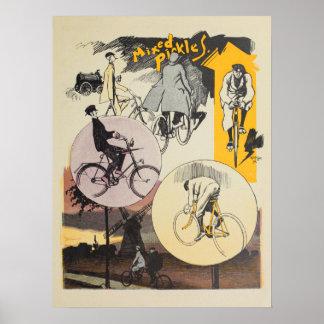 Poster 1898 affiches vintages d'art d'annonce de