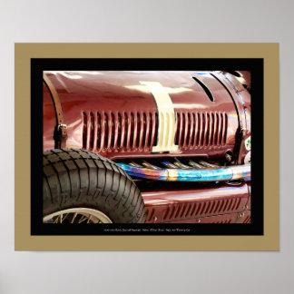 Poster 1939 automobile de Boyle - détail