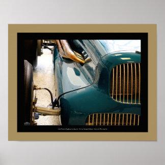 Poster 1946 automobile de Thorne - détail