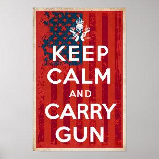 Poster 2ème Les droites d'amendement gardent le calme et