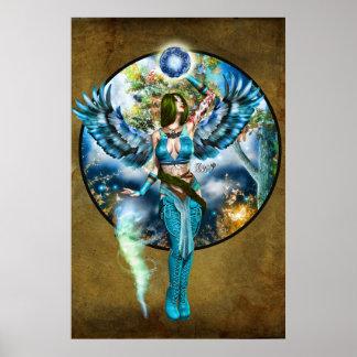 "Poster 36"" x 24"" ~Protector de Gai Urth du Realm~"