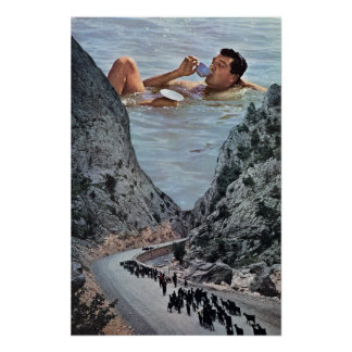 Poster À la mer