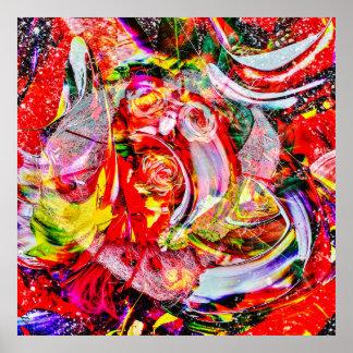 Poster Abstraitement dans la perfection 3