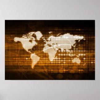 Poster Accès global des solutions de service et de
