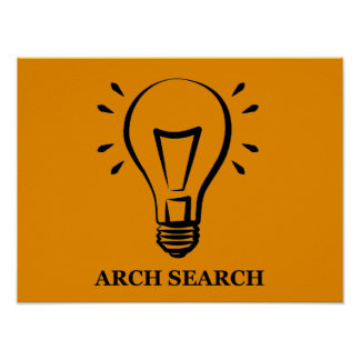 Poster Affiche Arch Search