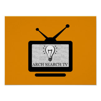 Poster Affiche Arch Search TV