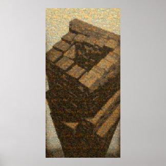 """Poster Affiche de """"Babel"""" (mosaïque de tout le"""