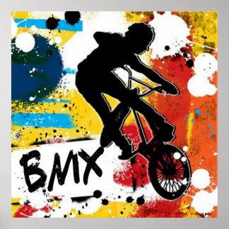 Poster Affiche de BMX