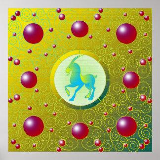 Poster Affiche de Capricorne