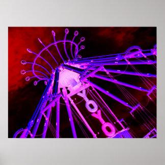 Poster Affiche de carnaval de YO-YO par l'mauvaise humeur