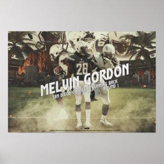 Poster affiche de Gordon de melvin