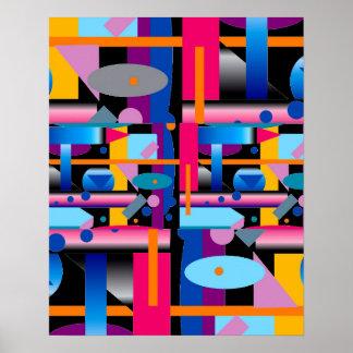 Poster Affiche de l'art moderne 41