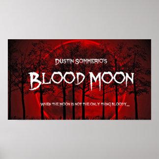 Poster Affiche de lune de sang