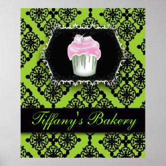 Poster Affiche de luxe de vente de boulangerie de petit