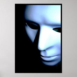 Poster Affiche de masque