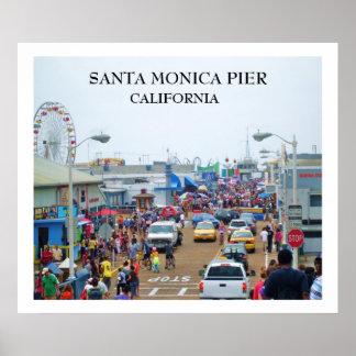 Poster Affiche de PILIER de SANTA MONICA