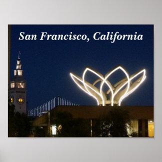 Poster Affiche de San Francisco Embarcadero #2