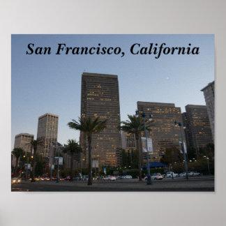 Poster Affiche de San Francisco Embarcadero #3
