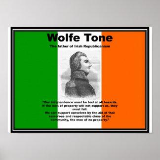 Poster Affiche de ton de Wolfe