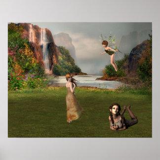 Poster Affiche d'imaginaire de conte de fées
