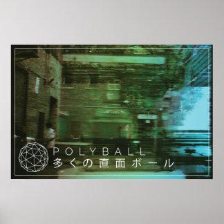 Poster Affiche d'International d'allée de Polyball