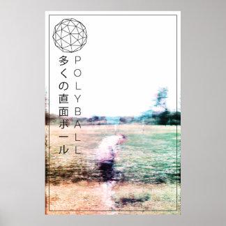 Poster Affiche d'International de champ de Polyball