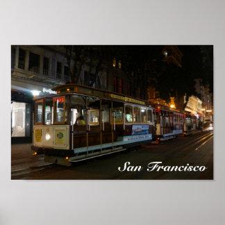 Poster Affiche du funiculaire #3 de San Francisco