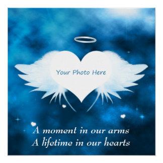 Poster Affiche faite sur commande parfaite - ange du