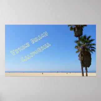 Poster Affiche géniale de plage de Venise !