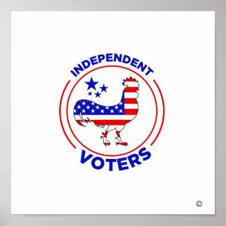 Poster Affiche indépendante d'électeurs