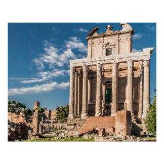 Poster Affiche parfaite | Colosseum de forum de Rome