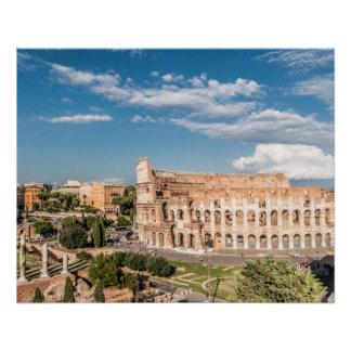 Poster Affiche parfaite de Colosseum Rome