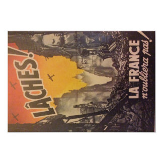 Poster Affiche revanche 1944