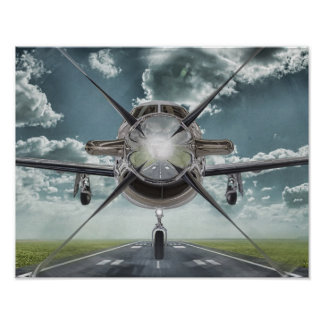 Poster Affiche très fraîche d'avions