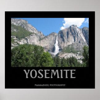Poster Affiche très fraîche de Yosemite !