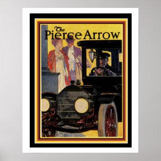 Poster Affiche vintage 16 x 20 d'annonce de flèche de