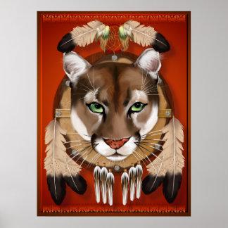 Poster Affiches de bouclier de puma