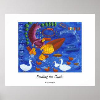 Poster Alimentation des canards